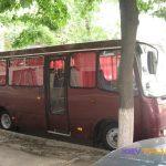 Автобус Богдан на 27 мест, вид сбоку