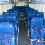 Автобус YouTong, салон, все сидения