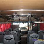 Автобус Богдан Турист, салон, вид сзади