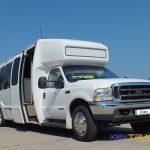 Автобус Форд на 32 места, вид спереди