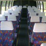 Автобус Форд, салон