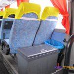 Автобус Iveco, салон, холодильник
