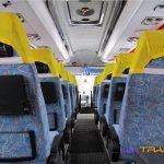 Автобус Iveco, салон