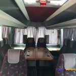 Автобус Мерседес стол в конце салона