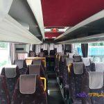 Автобус Мерседес расположение сидений в салоне