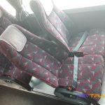 Автобус Мерседес сиденья с ремнями безопасности