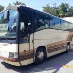 Автобус Мерседес вид справа